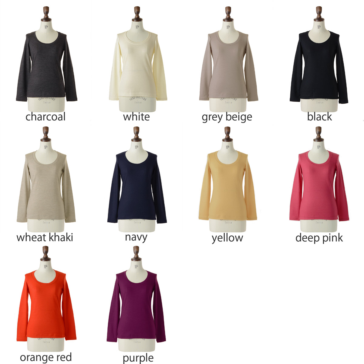 12 / 22 up to 23:59! Archipel sirene mermaid arch per sirenemermaid washable wool scoopneck pull over and mwaa5009 (10 colors) (M)
