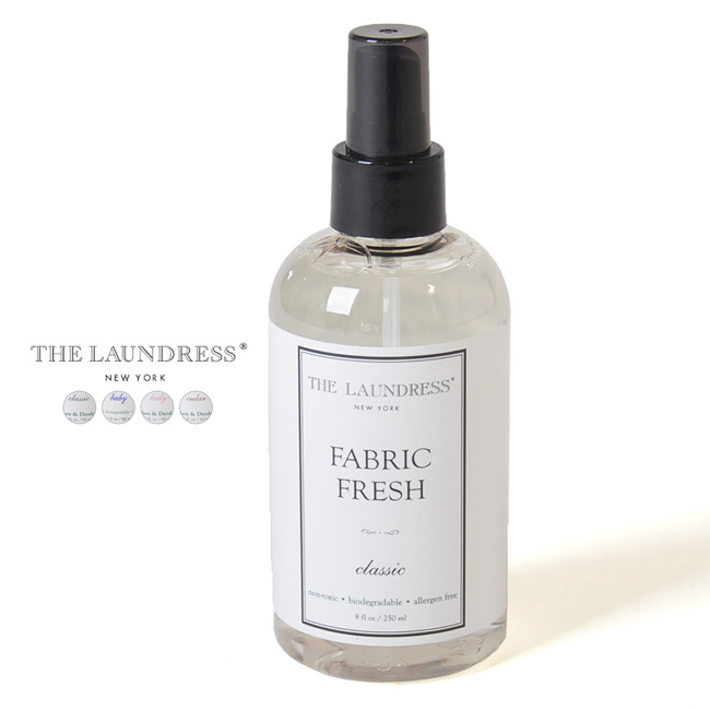 The Laundress the-Landreth ファブリックフレッシュ 250 ml / clothing deodorizer, 1085.1092, and 1108.1115 (all 4 species)
