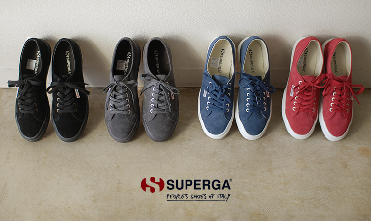 b0dcd3cc04ae5 SUPERGA Pelger 2750 SUEU/ suede leather sneakers, s003sr0SUPERGA