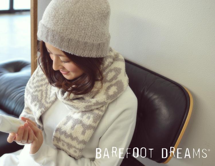 BAREFOOT DREAMS ベアフットドリームス 590 hat and scarf set ニット帽 マフラーセット・941012076n0wkOP