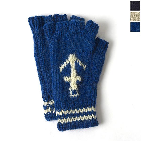 黑羊黑羊锚固设计无指针织手套和 sm08a (3 色) (男女)