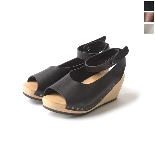 trippen trippen Wood collection ORINOCO Orinoco ankle strap wood sandal (3 colors)