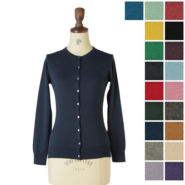 10 / 30 Up to 23:59! John smedley Smedley islington cardigan slim fit / ファインゲージニットカーディガン slim fit (all 20 colors) (S & M)