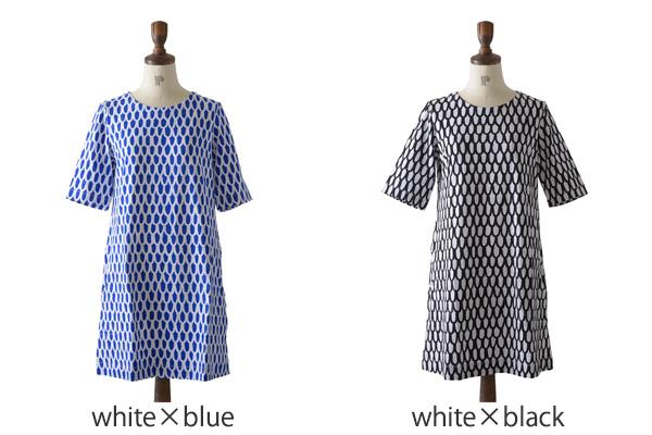 Marimekko 마리 멕 코 Pikku Suomu Jersey/UJUMA 픽스 옴 A 라인 원피스/5253242292 (2 컬러) (S/M/L) [10P06May15]