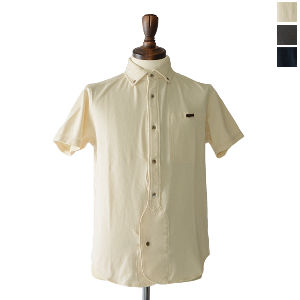 8217d22270f0 Nigel Cabourn Nigel cabin OFFICERS SH SS   Jersey short sleeve shirt with  officers