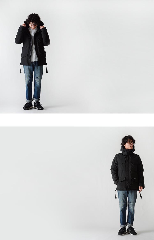 CANADA GOOSE 카나다 그 스 KAMLOOPS/캠룹스 중간 길이 다운 쟈 켓 Japan Size Spec (3 색) (XS/S/M/L/XL)