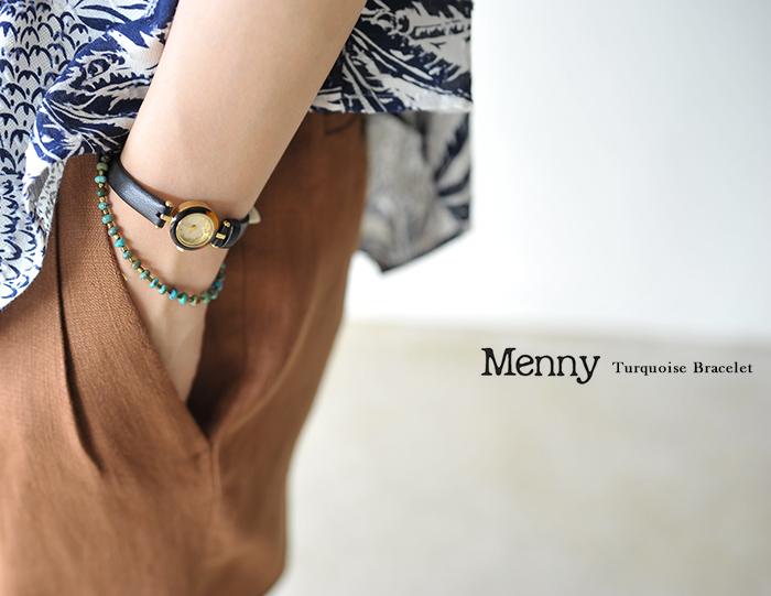 Menny 메니타코이즈브레스렛트・mnk020b (unisex)