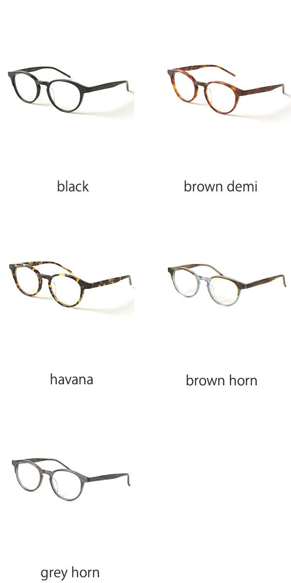 NEWMAN 뉴 CORSO/전체 셀 보스톤 안경 (3 색) (unisex)