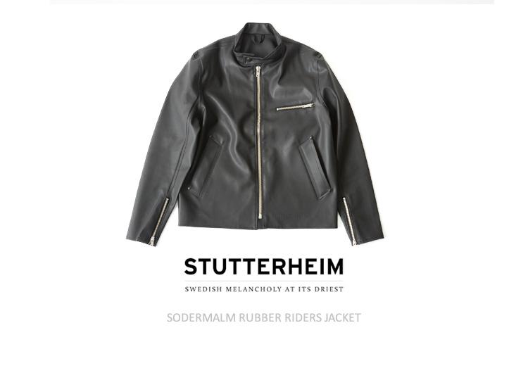 STUTTERHEIM ストゥッテルハイム Sodermalm/러 버 라 이다 스 쟈 켓 (XS/S)