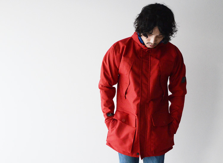 882ab938f3f5 karrimor K100 BY Nigel Cabourn Cali mer Kay one hundred by Nigel Kay Bonn  TECHNICAL PARKA  technical parka (all two colors) (S M L)