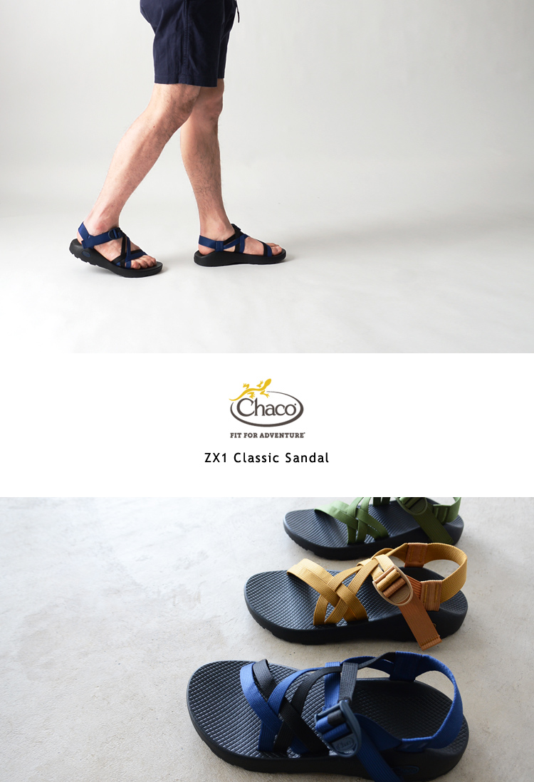 3e12cbbf4aa Chaco Chaco ZX1 Classic Sandal classical music way Bing belt sandals  .12366104