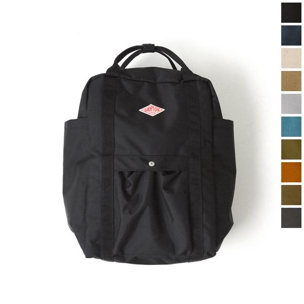 DANTON 달 톤 UTILITY BAG/2way 캔버스 가방 jd-7071scv (5 색상) (unisex)