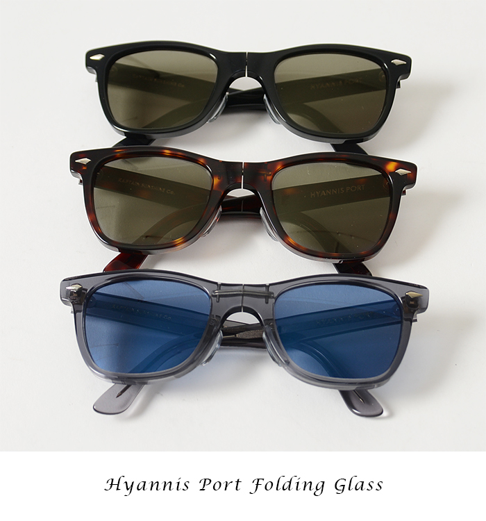 KAPTAIN SUNSHINE 캡틴 선샤인 Hyannis Port Folding Glass 접는 선글라스 안경/ks6sg17 (unisex)