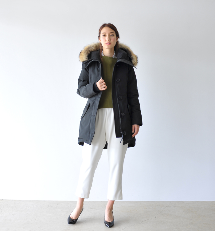 canada goose rossclair damen navy