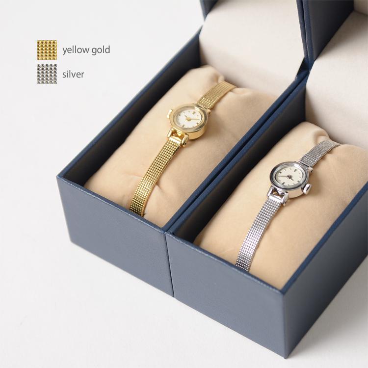 Induna インデュナ KATE-케이트 서클 면 손목 시계 시계 골드 실버 37162 (2 색) 라쿠텐 카드 분할