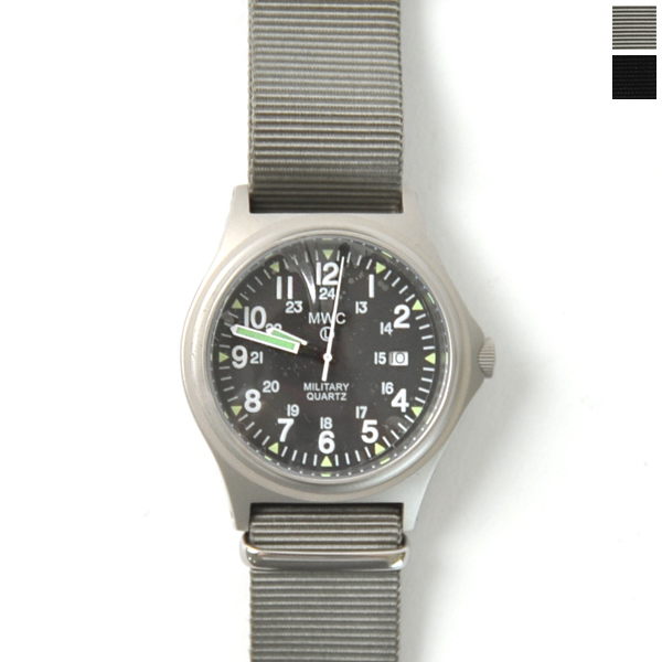 MWC ミリタリーウォッチカンパニー Genuine G10 Watch ミリタリーリストウォッチ 腕時計・g10bh12/24ss・g10bh12/24pvd(全2色)【送料無料】