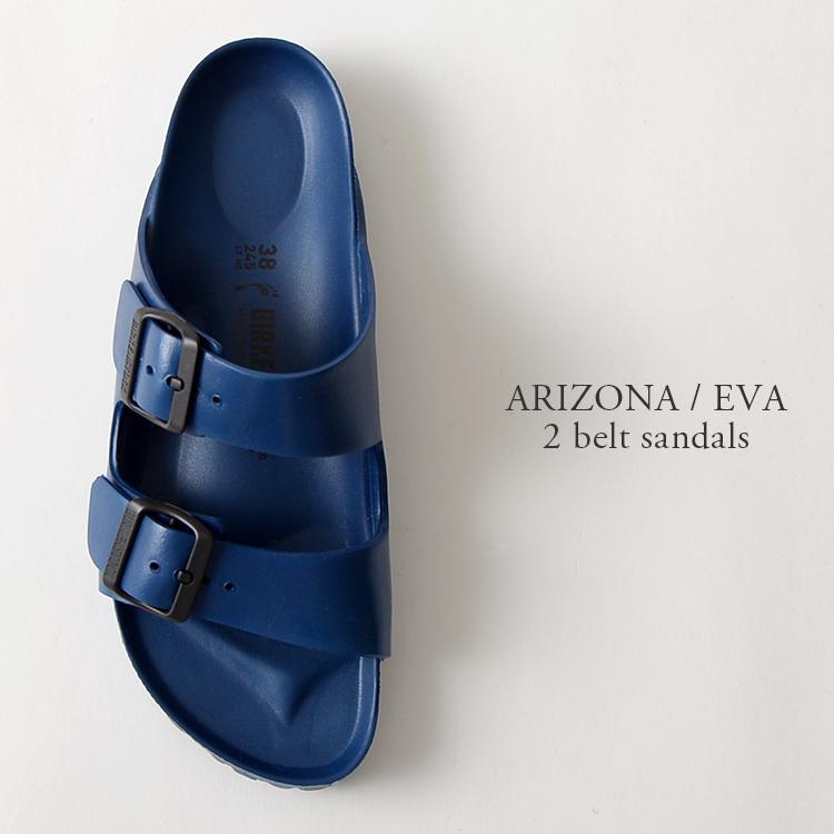 BIRKENSTOCK 비르 켄 슈 특 크 ARIZONA/애리조나 EVA 2 벨트 샌들 (3 컬러) (unisex)