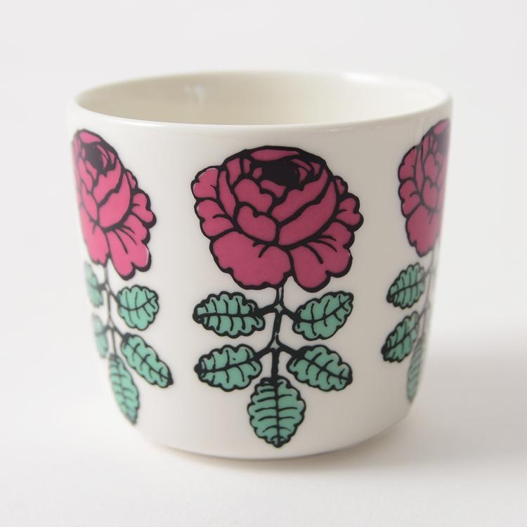 Marimekko 마리 멕 코 JAPAN EXCLUSIVE Puketti COFFEE CUP 2PCS プケッティ 커피잔 ラテマグ 2 개 세트/52631-6-7286