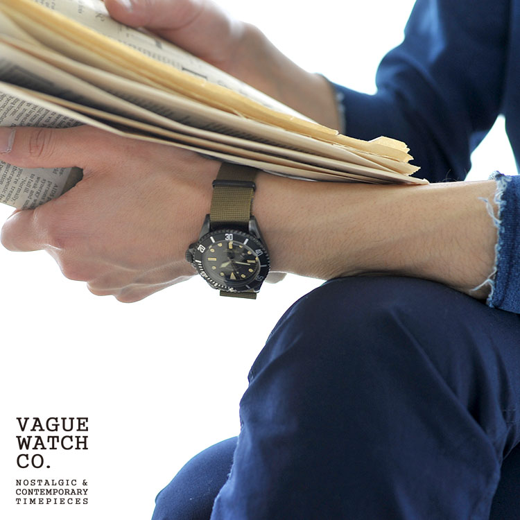 VAGUE WATCH CO. ヴァーグウォッチカンパニー ダイバーズウォッチ 腕時計 時計 リストウォッチ・bs-l-001 【送料無料】 #0923