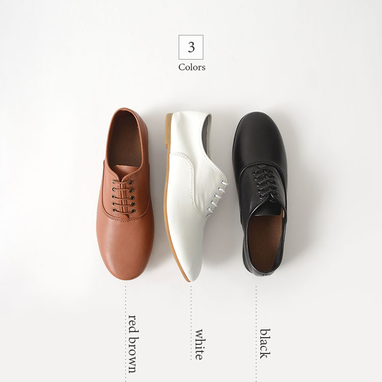Minan polku ミナンポルク soft balmoral shoes 매트 레더 소프트 バルモラルシューズ/M329 824 라쿠텐 카드 분할