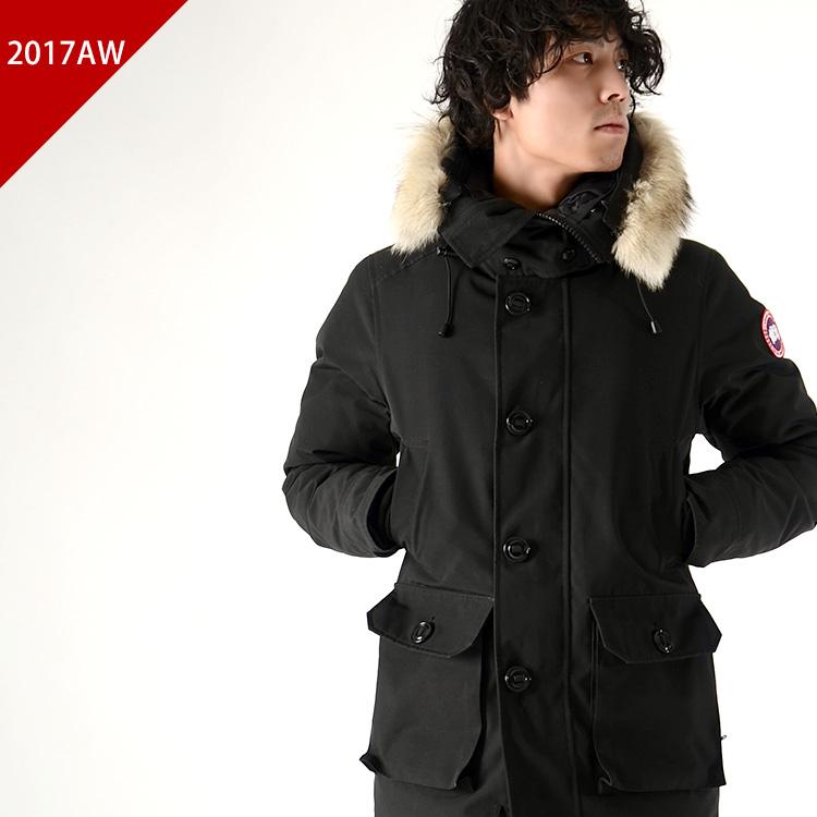 CANADA GOOSE Canada goose BROOKFIELD / Brookfield フードファー down jacket Japan Size Spec (5 colors) (XS, S, M, L, XL)