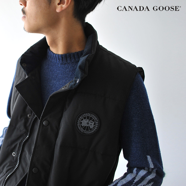 CANADA GOOSE Canada goose FREESTYLE CREW VEST BLACK LABEL free-style crew  best black label casual down vest .4154MB  1113 in the fall and winter  latest 2017 4c16b68fa