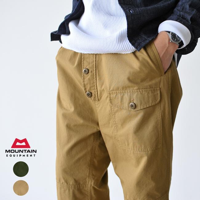 【SALE!40%OFF】MOUNTAIN EQUIPMENT マウンテンイクイップメント Utility Trousers ユーティリティトラウザーズ コットンリップワイドパンツ ・425442 #0126【セール】【返品交換不可】【SALE】