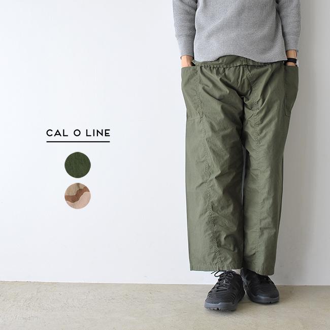 【アウトレット】【30%OFF】CAL O LINE キャルオーライン RIP STOP PUEBLO PANTS リップストッププエブロパンツ ユーティリティワイドパンツ ・CL-181-110 #0217【セール】【返品交換不可】【SALE】