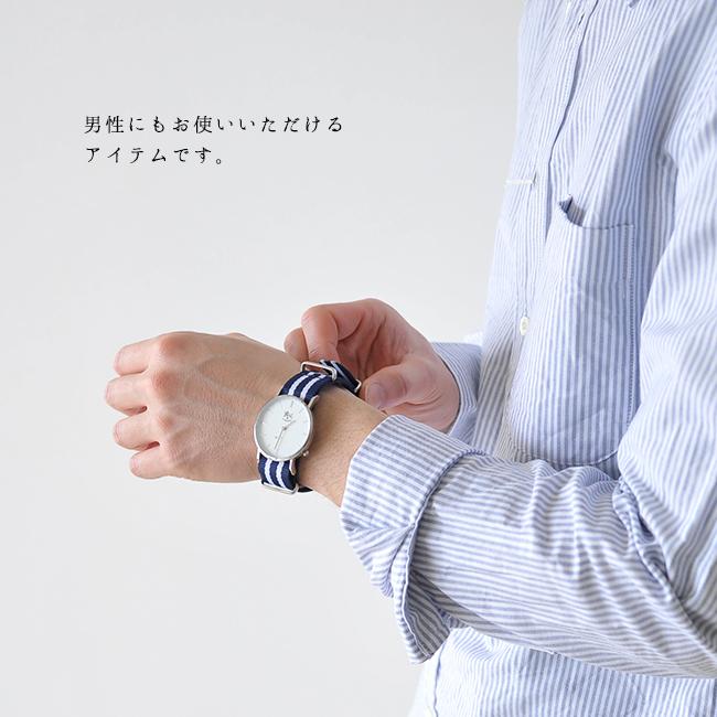 IL BISONTE イルビゾンテ ナイロンベルト リストウォッチ 腕時計 ・54172-3-04197 【】 #0307【クーポン対象外】