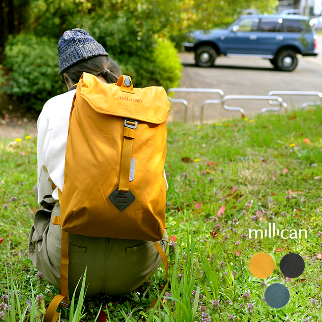 ミリカン/millican フレーザー ザ ラックサック15L/Fraser the Rucksack 15L コンパクト バックパック リュック レディース/メンズ カバン M016 1125 【送料無料】