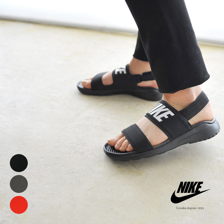8f1b703a0c74 NIKE Nike WMNS TANJUN SANDAL women tongue Jun sandals ankle strap Velcro  sports sandals .882694  0512 in the spring and summer latest 2017