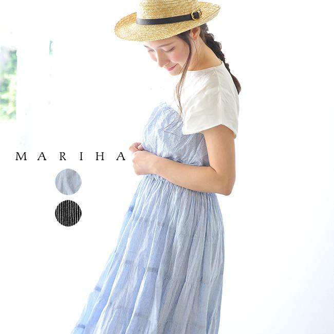 MARIHA マリハ 草原の夢のドレス インドコットン チューブトップ マキシワンピース ・861382120 【送料無料】#0608