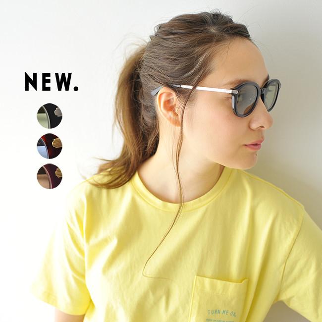 NEW. ニュー DONAC セル×メタル コンビネーション ウェリントン型 サングラス 眼鏡 #0628
