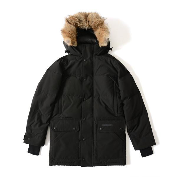 CANADA GOOSE Canada goose EMORY PARKA BLACK LABEL / Emory Park favored food down jacket black disc, black label, 2580 MB