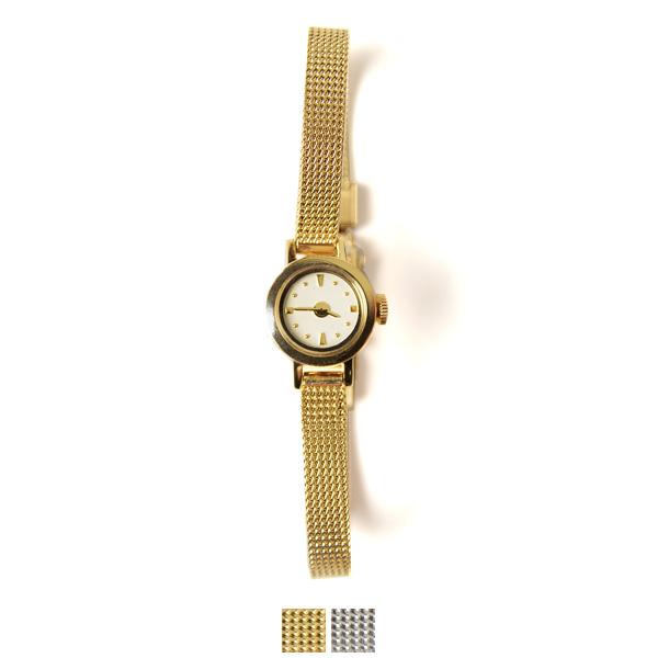 【SALE!30%OFF】induna インデュナ KATE ケイト サークルフェイス リストウォッチ 腕時計 ゴールド シルバー・37162(全2色)【送料無料】【セール】【返品交換不可】【SALE】