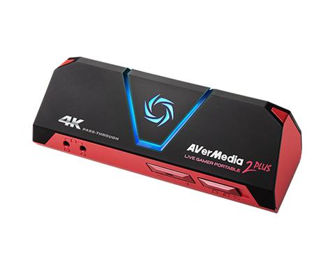 アバーメディア ゲームキャプチャー Live Gamer Portable 2 PLUS [AVT-C878 PLUS] 【送料無料※沖縄・離島除く】1080p/60fps録画・ライブ配信・4Kパススルー機能に対応