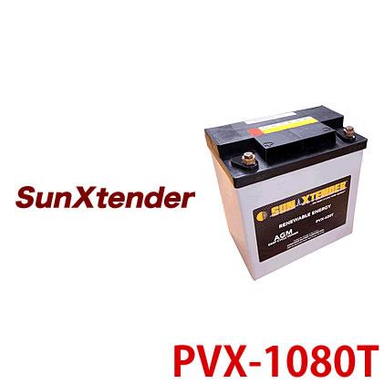 【 電菱 DENRYO 】 独立型システム用 ディープサイクルバッテリー PVX-1080T 太陽光発電 【送料無料 沖縄・離島除く】