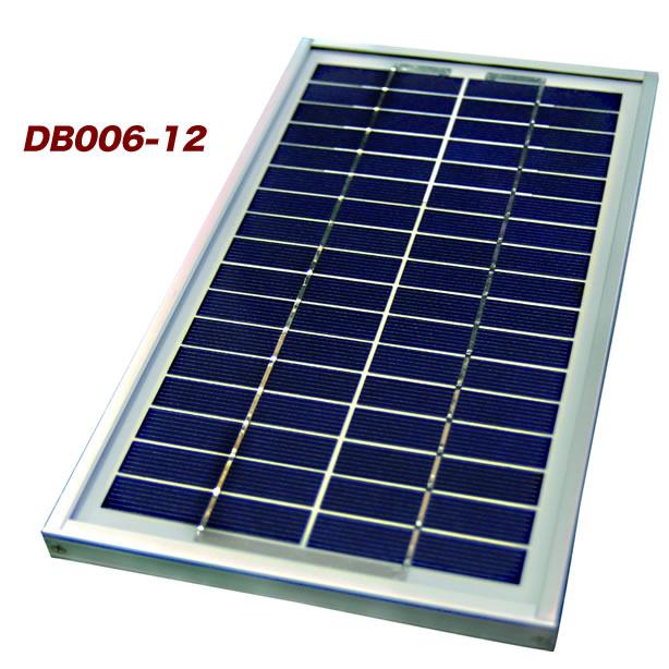 【 電菱 DENRYO 】 中・小型太陽光発電モジュール DB006-12 【送料無料 沖縄・離島除く】 太陽光発電 小型太陽電池 ソーラー発電 ソーラーパネル