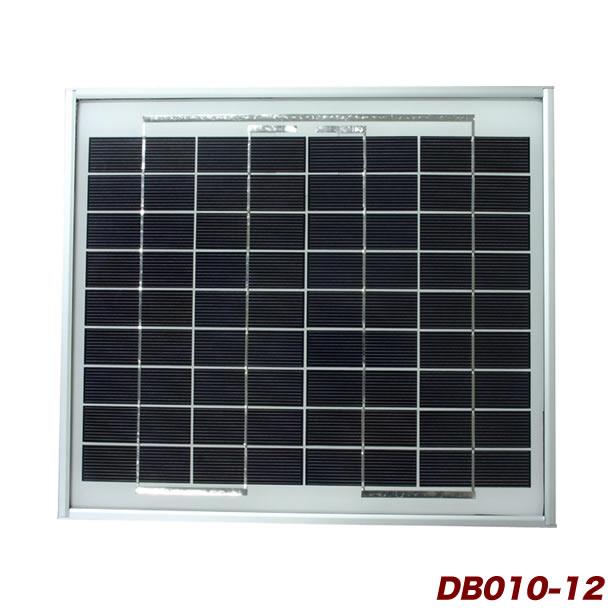 多結晶シリコン採用 表面ガラスは光の透過率特性の良い熱処理 強化処理 お得なキャンペーンを実施中 ガラスを使用 電菱 DENRYO 中 小型太陽光発電モジュールDB010-12 離島除く ソーラー発電 沖縄 奉呈 小型太陽電池 ソーラーパネル 送料無料 太陽光発電