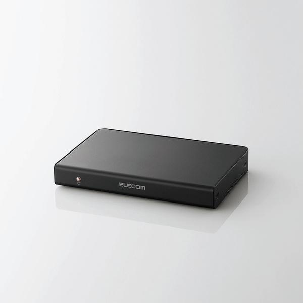エレコム HDMI分配器/1入力/4出力 [VSP-HD14BK]【送料無料※沖縄・離島除く】3D対応 4K対応 プレゼン デモンストレーション Deep Color DolbyTrueHD カスケード接続 ミラーリング マルチディスプレイ