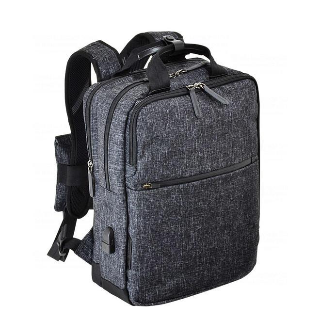 エンドー鞄 NEOPRO CONNECT BackPack [2-770-MBK] カラー:杢調クロ【送料無料※沖縄・離島除く】リュック バックパック ビジネスバッグ メンズ パソコンバッグ 軽い 丈夫