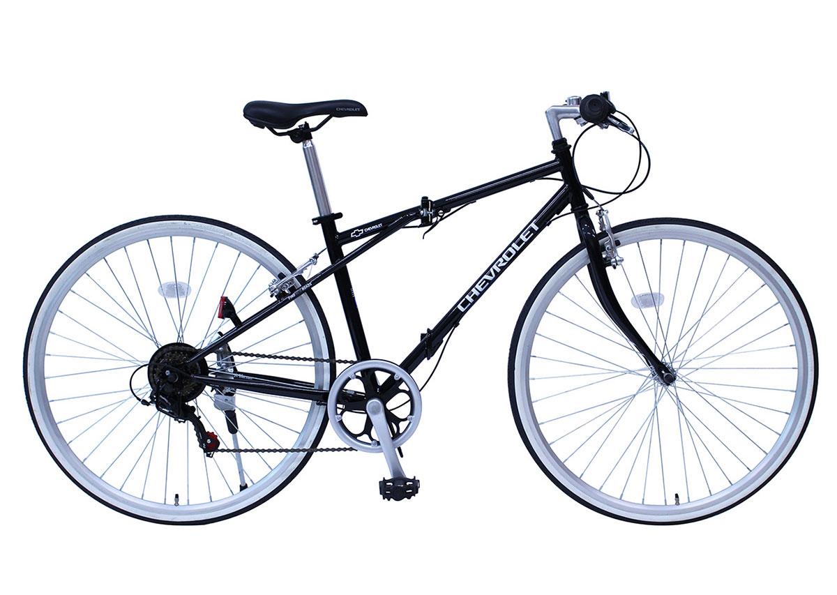 【ミムゴ】シボレー クロスバイク 自転車 6段変速ギア [MG-CV7006G]【送料無料※沖縄・北海道は別途料金、離島は配達不可】【代引き不可】オシャレ 折りたたみ FD-CRB700C6SG