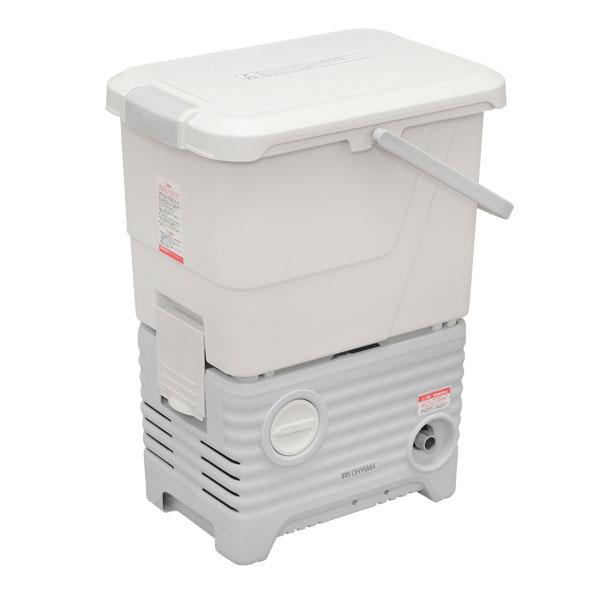 アイリスオーヤマ タンク式高圧洗浄機洗車セット [SBT-512NS] ホワイト【送料無料※沖縄・離島除く】温水対応 最大許容圧力:約8.5MPa