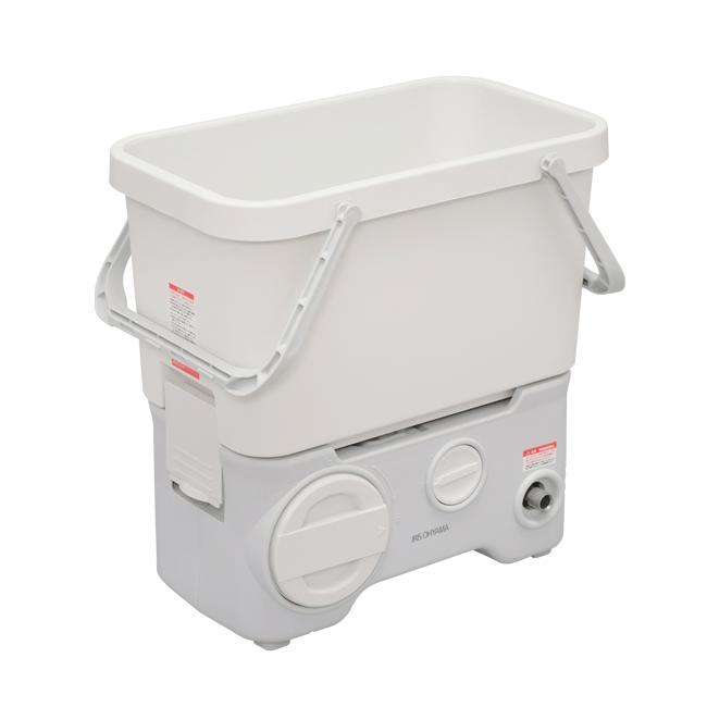 アイリスオーヤマ タンク式高圧洗浄機 充電タイプ [SDT-L01N]【送料無料※沖縄・離島除く】 充電式 コードレス 温水 お湯 静か 静音 強力 お風呂 洗車 ベランダ 家庭用
