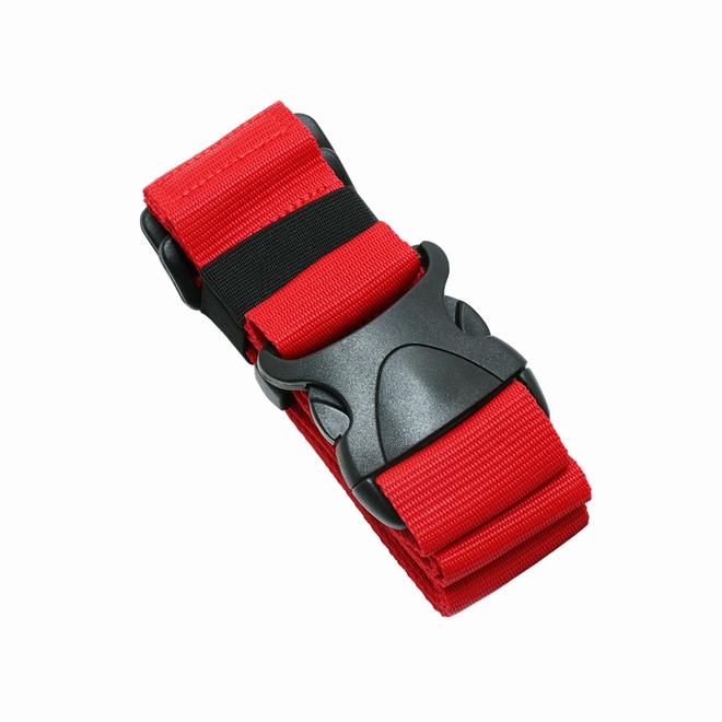 MIIYOSHI スーツケースの目印に シンプルで取り付けやすいスーツケースベルト ミヨシ ワンタッチスーツケースベルト レッド 大幅値下げランキング 旅行 激安特価品 MBZ-SBL01-RD 送料別 空港 スーツケース 海外