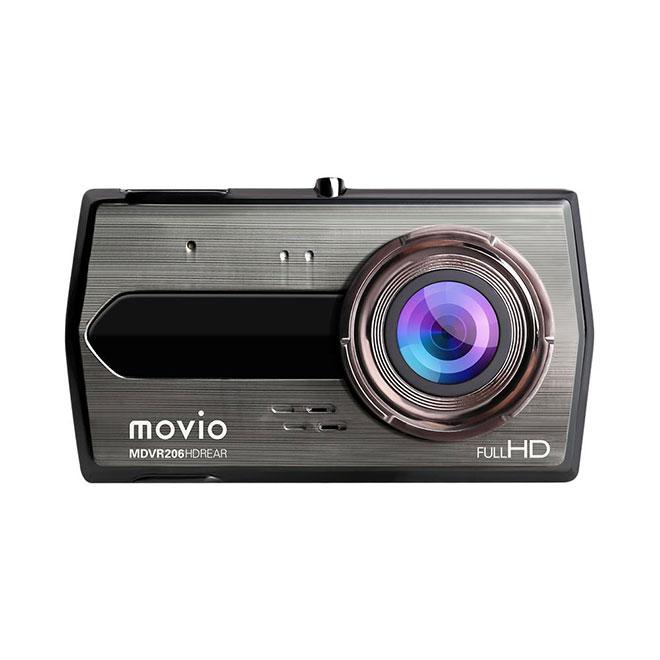 ナガオカ 高画質HDリアカメラ搭載 前後2カメラ ドライブレコーダー [MDVR206HDREAR]【送料無料※沖縄・離島は除く】ドラレコ スクリーンサイズ:4.0インチ