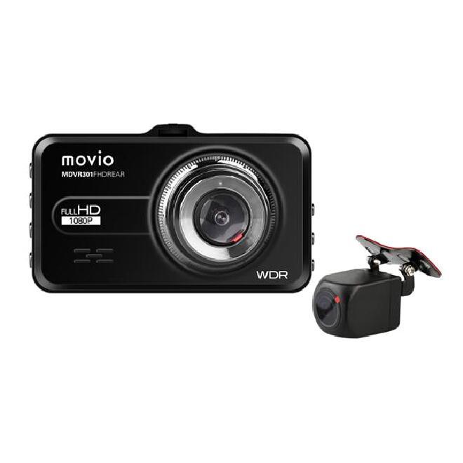 NAGAOKA 期間限定特価品 リアカメラ搭載 2カメラで前後を記録 あおり運転対策に ナガオカ 高画質Full HDリアカメラ搭載 前後2カメラ ドライブレコーダー 送料無料※沖縄 売り込み ドラレコ MDVR301FHDREAR スクリーンサイズ:3.0インチ 離島は除く あおり運転対策