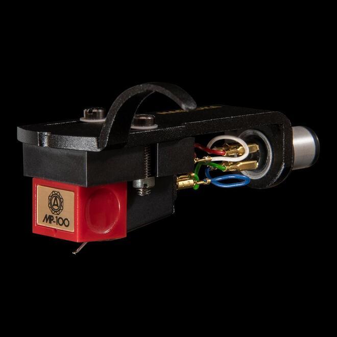 NAGAOKA ポップスやジャズに最適 高性能のエントリーモデル ナガオカ MP型ステレオカートリッジ ヘッドシェル付き 未使用 MP-100H パーツ 超特価SALE開催 離島は除く MPシリーズ レコード針 送料無料※沖縄 カートリッジ
