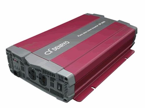 DENRYO 最大42%軽量化 -20~60℃広い動作温度範囲のSPシリーズ正弦波インバータです 40%OFFの激安セール 電菱 DC-AC正弦波インバータ SPシリーズ SP-2000-112A 送料無料※沖縄 軽量 パワーセーブモード機能 リモート端子 外部通信機能 RS-232 時間指定不可 離島は除く 小型