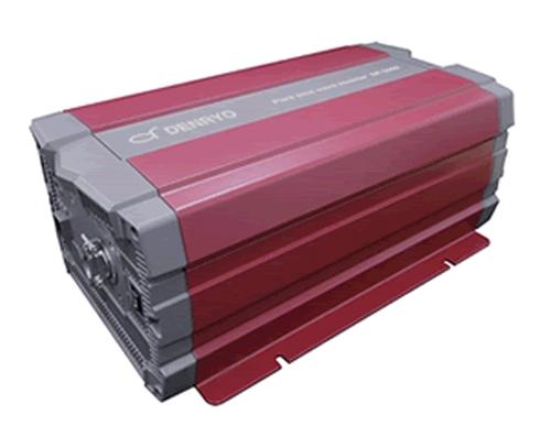 DENRYO 買物 最大42%軽量化 -20~60℃広い動作温度範囲のSPシリーズ正弦波インバータです 電菱 DC-AC正弦波インバータ 驚きの値段 SPシリーズ SP-3000-148G 送料無料※沖縄 RS-232 パワーセーブモード機能 リモート端子 小型 離島は除く 軽量 外部通信機能